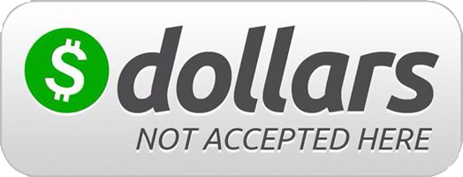 DollarsNotAccepted