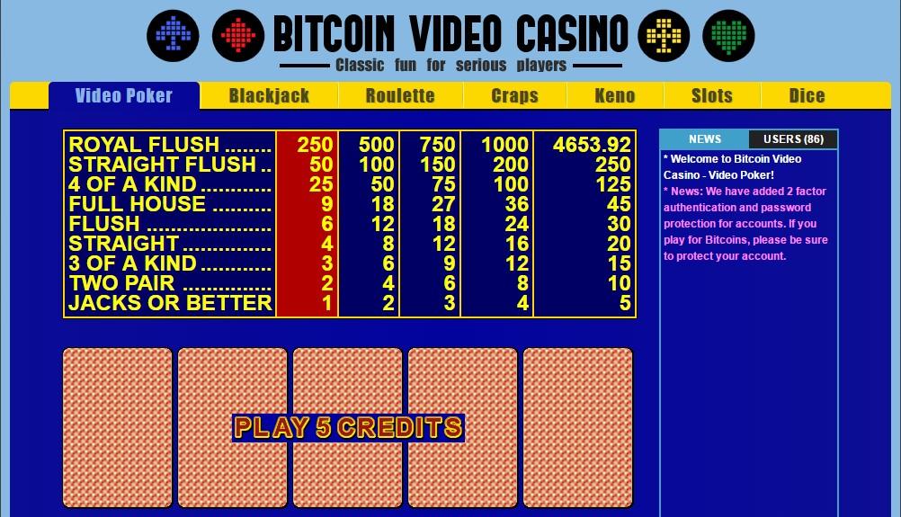 BitcoinVideoCasino
