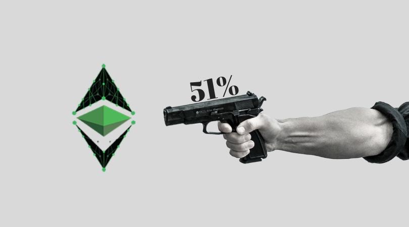 51% ataque Ethereum Classic hacker canva