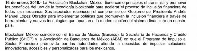 Mexico asociacion blockchain twitter