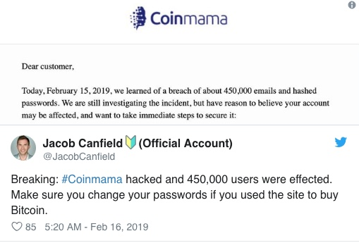 coinmama twitter