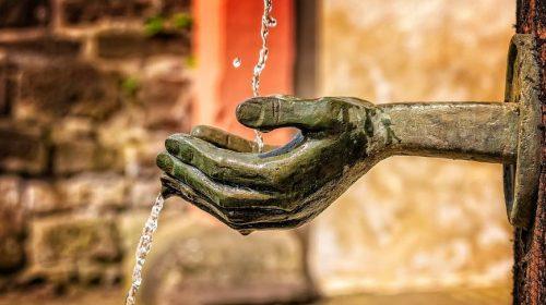 agua blockchain pixabay