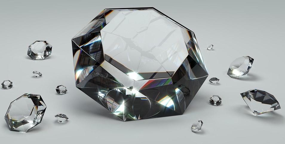 diamante blockchain pixabay