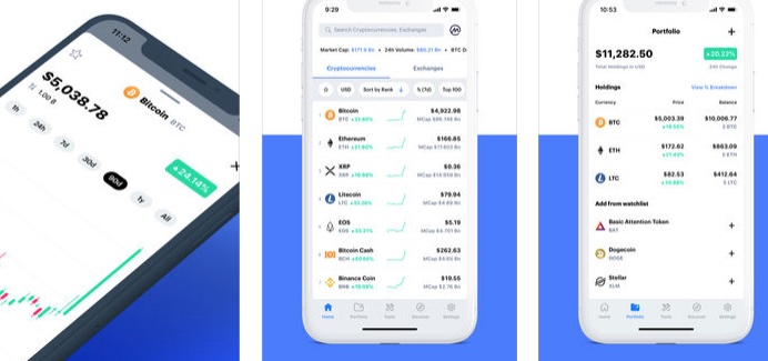 coinmarketcap apple store