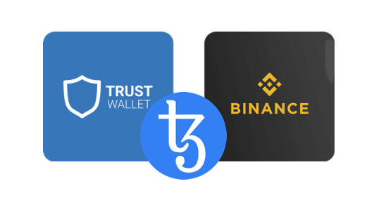 tezos binance web
