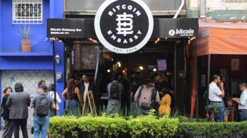 Bitcoin Embassy Bar de México