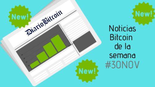 Noticias Bitcoin de la semana 30NOV. Imagen: Canva