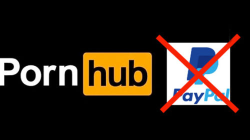 Paypal blocks out Pornhub users