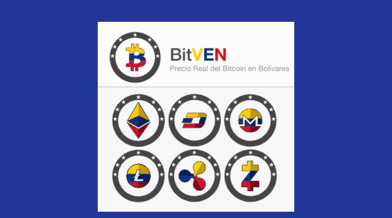 Cómo funciona Bitven, calculadora bitcoin bolívares. Imagen de Bitven