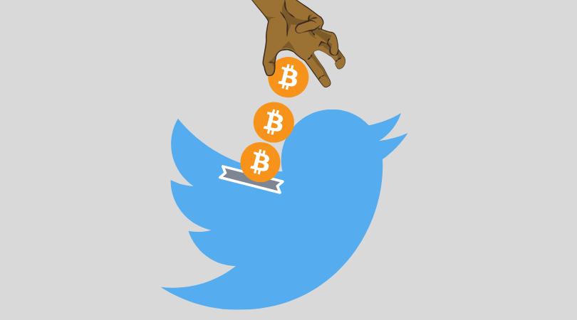 Twitter propinas Bitcoin