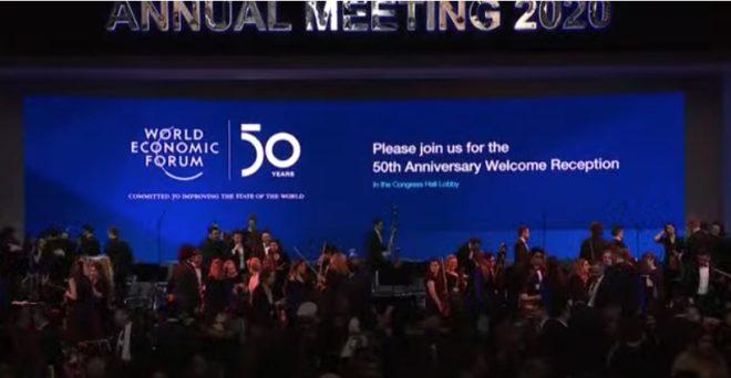 Foro Económico Mundial Davos 2020