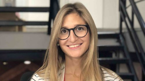 Fiorella Scantamburlo, periodista Blockchain argentina.