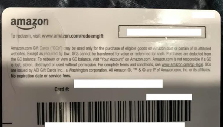 giftcard Amazon