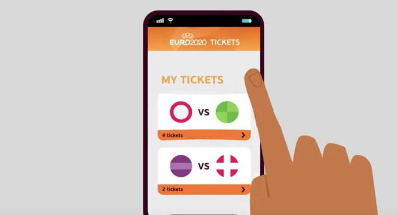 Boletos UEFA fútbol con Blockchain