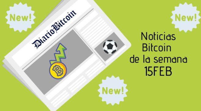 Noticias Bitcoin de la semana del 15 febrero