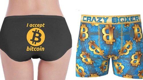Ropa interior de Bitcoin