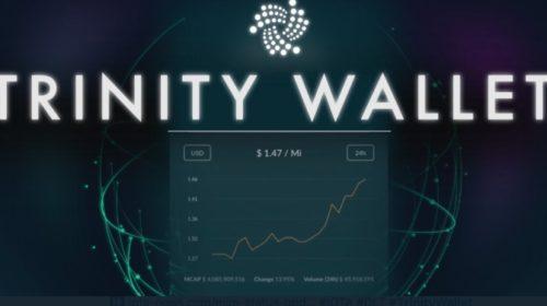 Trinity wallet de IOTA