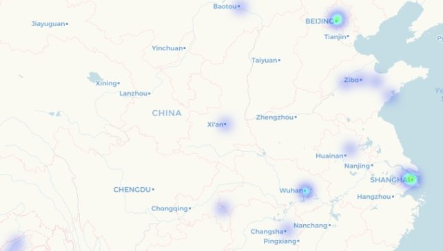 Criptocomercio en China