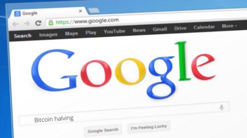 halving de bitcoin google