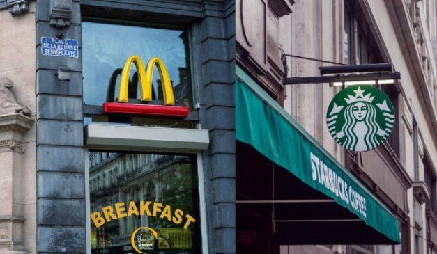 McDonald's Starbucks