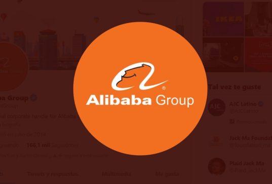 alibaba group Blockchain twitter
