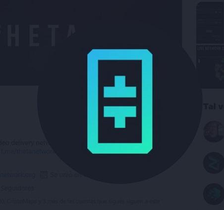 Theta Network Logo Twitter