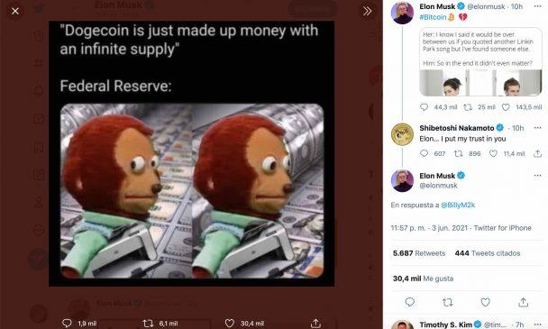 doge meme Musk